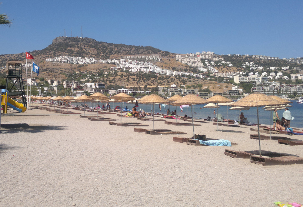 gundogan plajı
