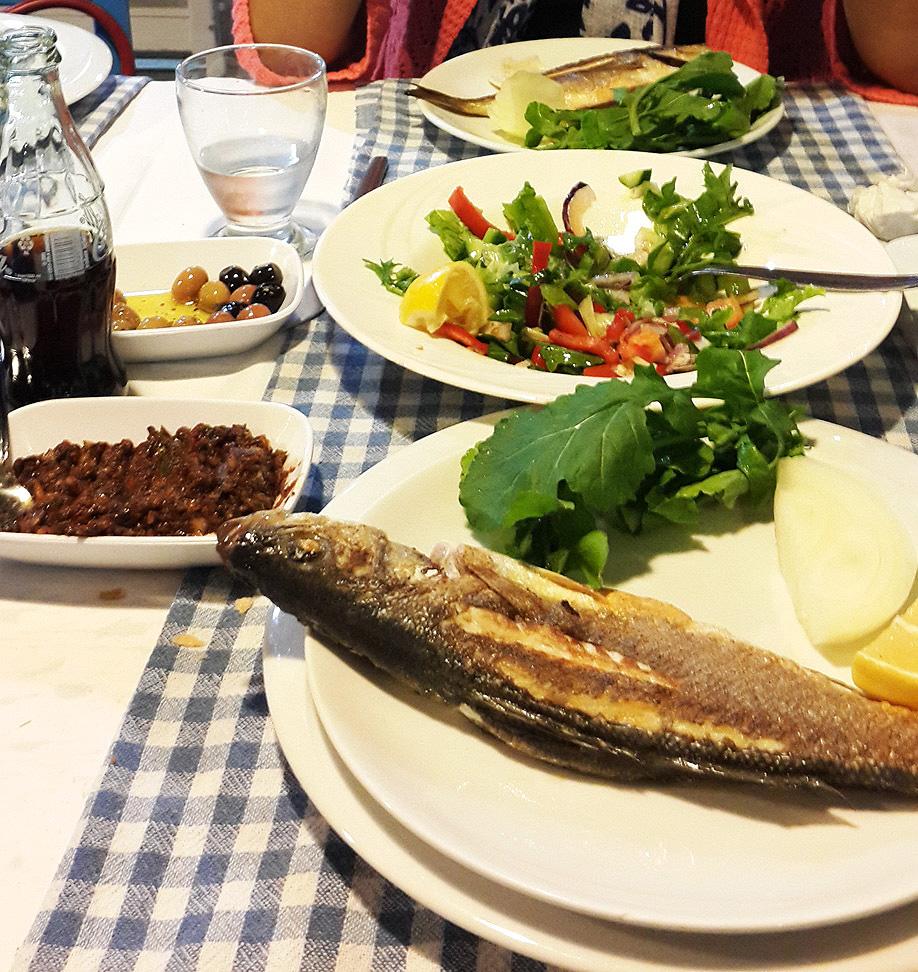 bodrum'da rakı balık