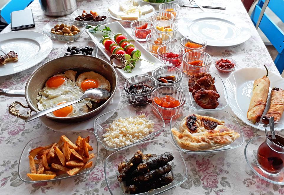 çetilik köy kahvaltısı