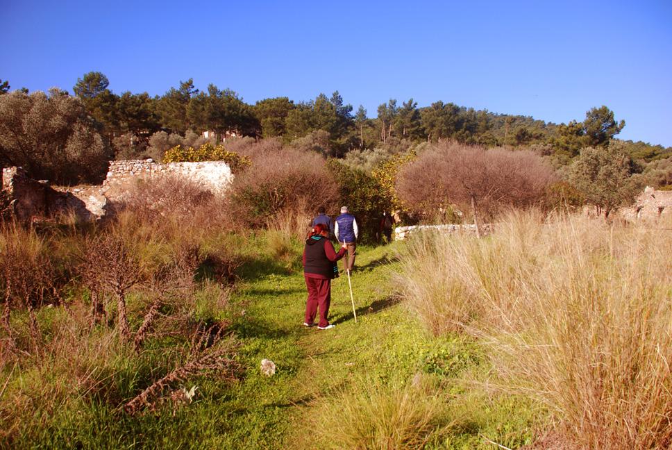 bodrum trekking