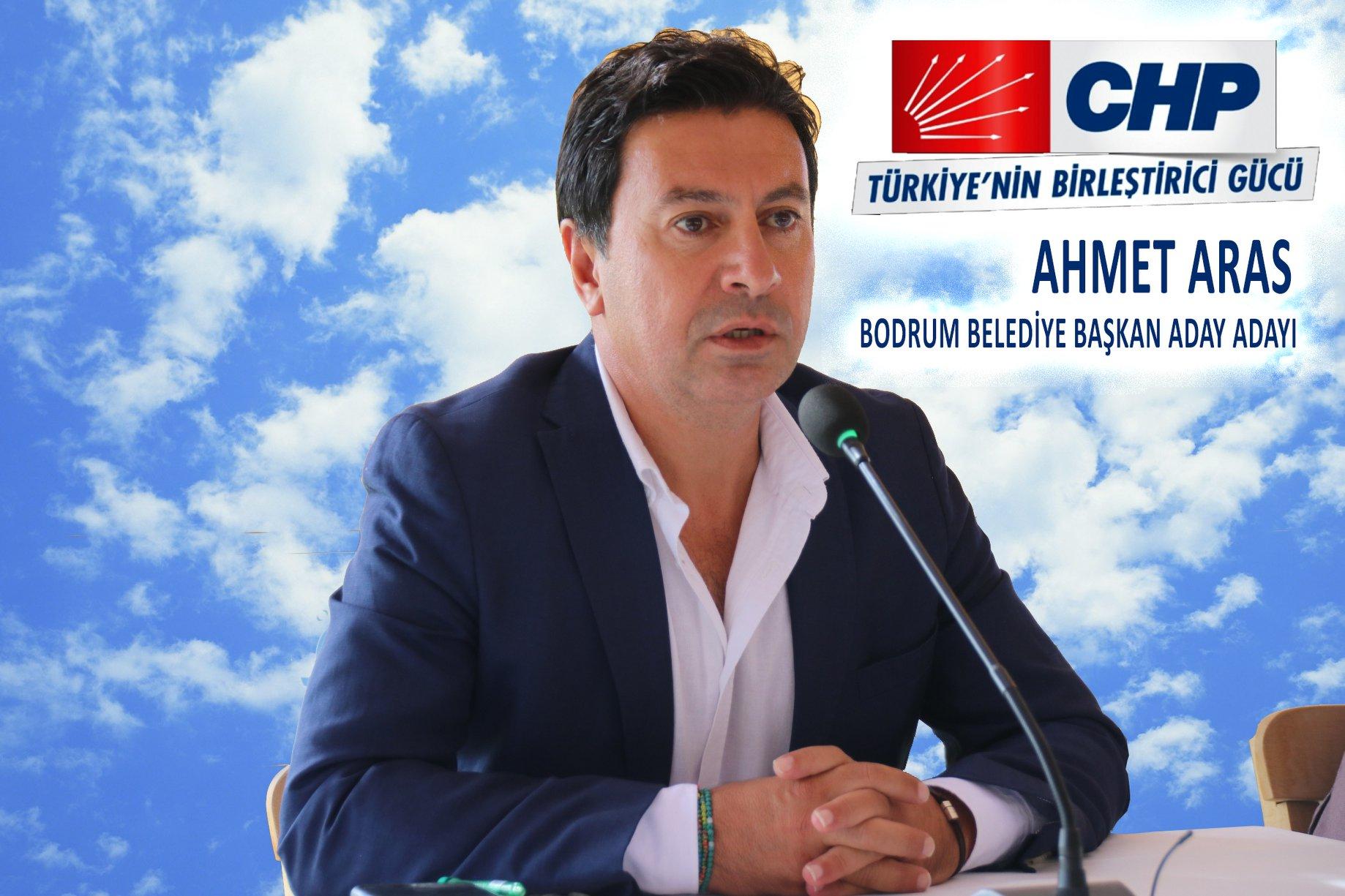 Bodrum Belediye Başkanı CHP'li Ahmet Aras ile ilgili görsel sonucu