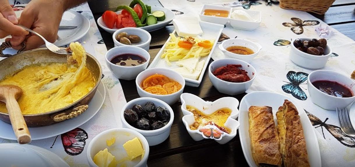 parpali karadeniz kahvaltısı